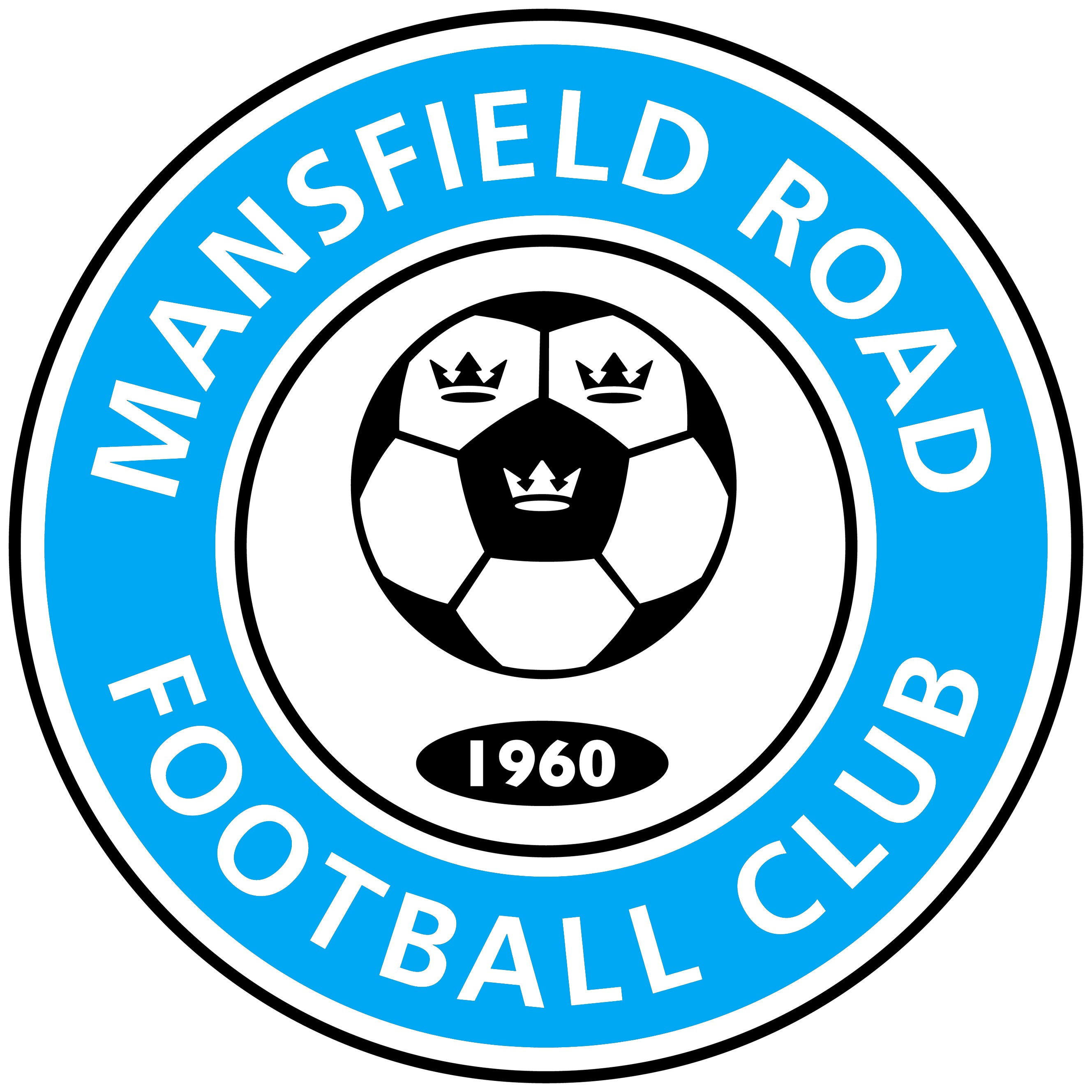 Mansfield road football club logo large